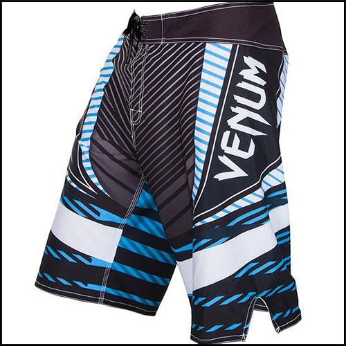 Venum - Шорты - ABYSS BOARDSHORTS - BLACK/BLUE фото, цена, описание