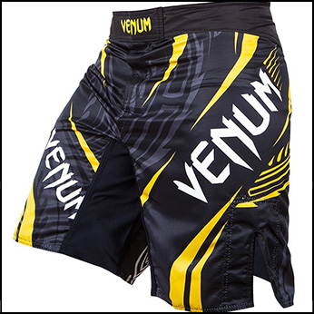 Venum - Шорты - Lyoto Machida - Ryujin - Black/Yellow