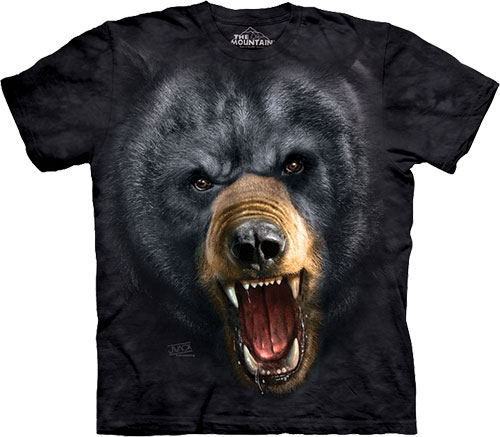 Футболка The Mountain - Aggressive Nature Black Bear