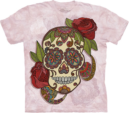 Футболка The Mountain - Paisley Sugar Skull