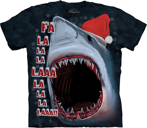Футболка The Mountain - Xmas Shark