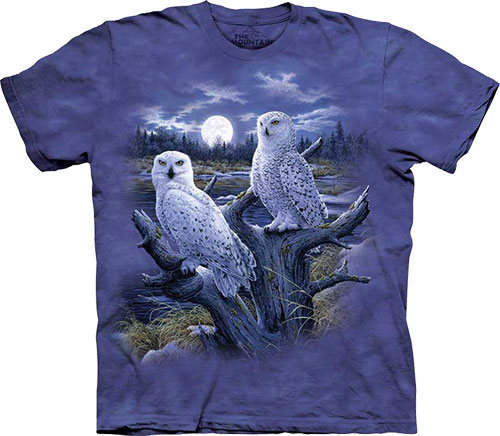 Футболка The Mountain - Snowy Owls