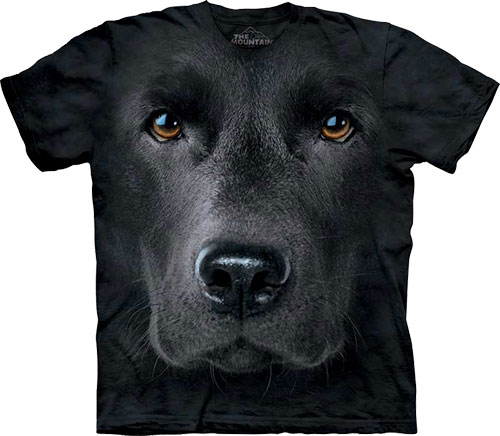 Футболка The Mountain - Black Lab Face фото, цена, описание