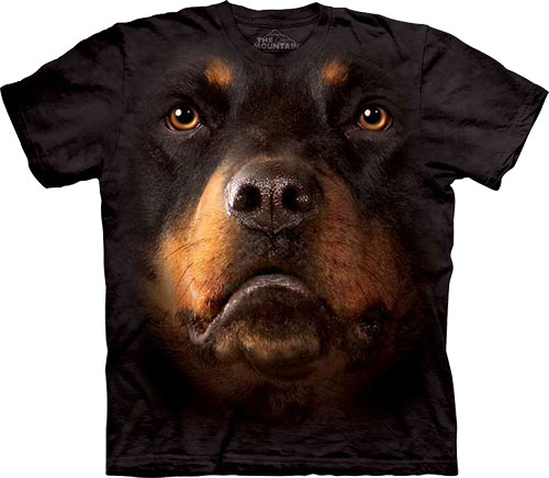 Футболка The Mountain - Rottweiler Face фото, цена, описание