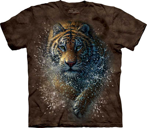 Футболка The Mountain - Tiger Splash