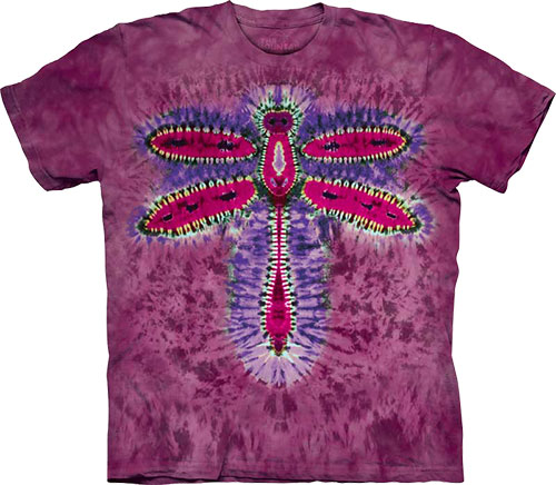 Футболка The Mountain - Dragonfly Tie Dye фото, цена, описание