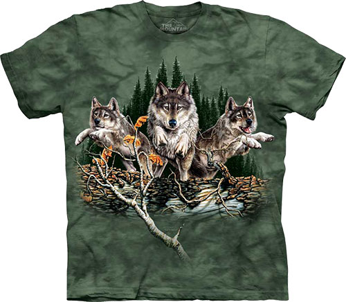 Футболка The Mountain - Find 12 Wolves
