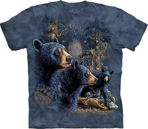 Футболка The Mountain - Find 13 Black Bears