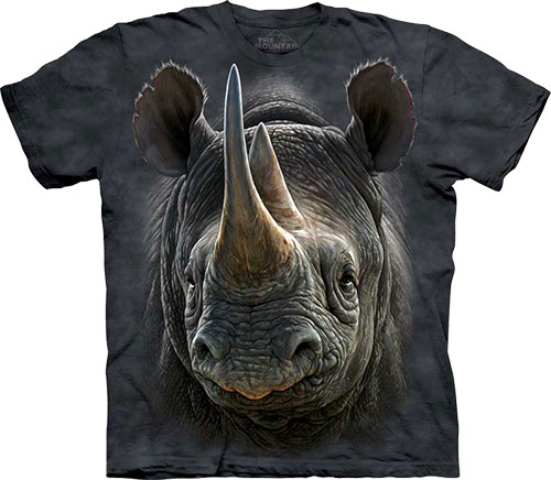 Футболка The Mountain - Black Rhino фото, цена, описание