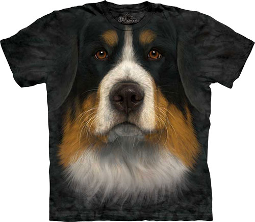 Футболка The Mountain - Bernese Mountain Dog Face