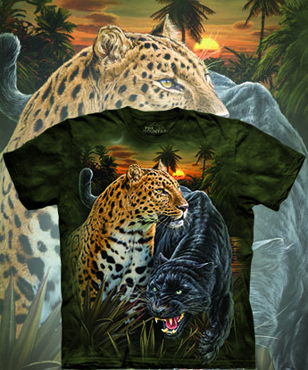 Футболка The Mountain - Two Jaguars