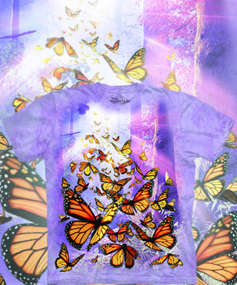 Футболка The Mountain - Monarch Butterflies