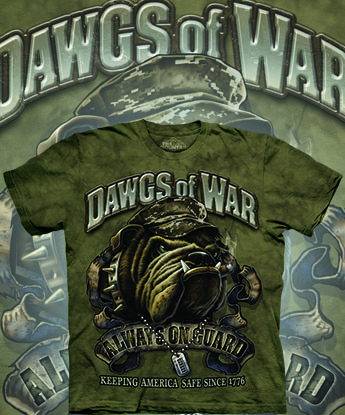 Футболка The Mountain - Dawgs of War