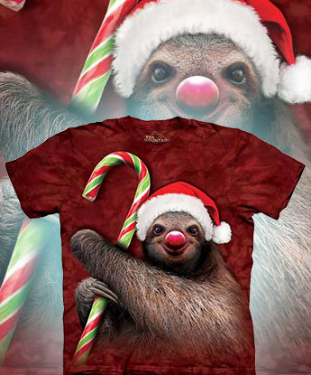Футболка The Mountain - Candy Cane Sloth