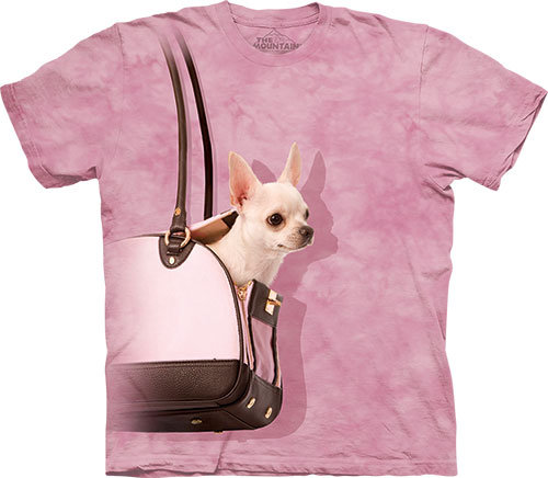 Футболка The Mountain - Handbag Chihuahua фото, цена, описание