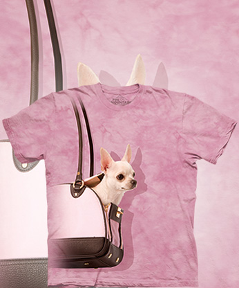 Футболка The Mountain - Handbag Chihuahua