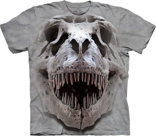 Футболка The Mountain - T Rex Big Skull фото, цена, описание