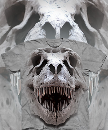 Футболка The Mountain - T Rex Big Skull