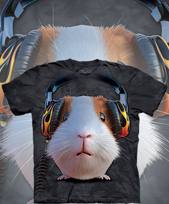 Футболка The Mountain - DJ Guinea Pig
