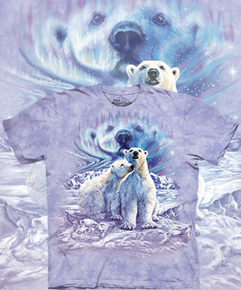 Футболка The Mountain - Find 10 Polar Bear Pair
