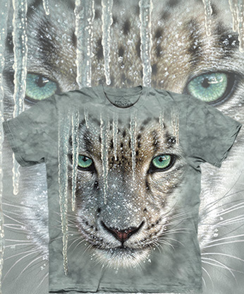 Футболка The Mountain - Icicle Snow Leopard