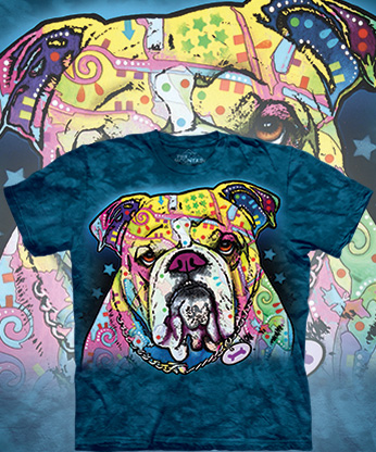 Футболка The Mountain - Colorful Bulldog