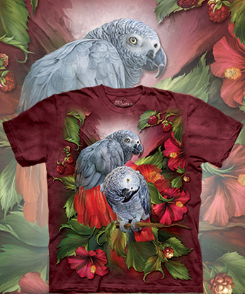 Футболка The Mountain - African Gray Mates
