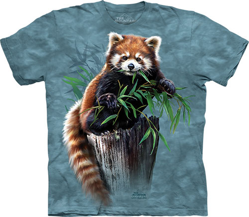 Футболка The Mountain - Bamboo Red Panda