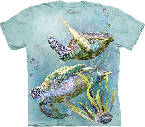 Футболка The Mountain - Sea Turtles Swim