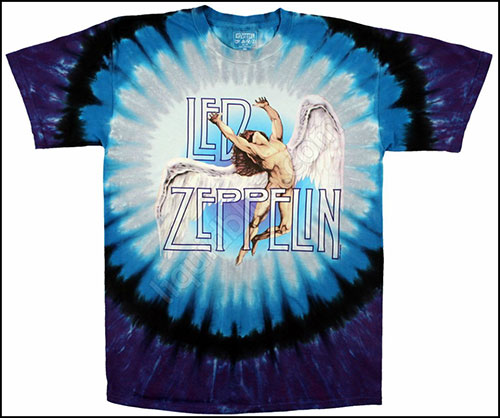 Футболка Liquid Blue - Led Zeppelin - Swan Song - T-shirt фото, цена, описание