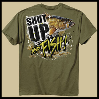Футболка Buck Wear - Shut Up Walleye фото, цена, описание