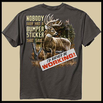 Футболка Buck Wear - Bumper Sticker Deer