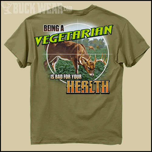 Футболка Buck Wear - Being A Vegetarian фото, цена, описание