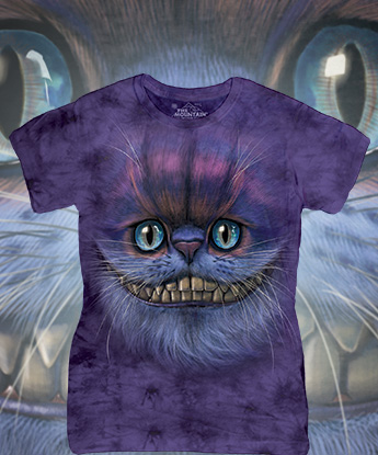 Футболка Женская The Mountain - Big Face Cheshire Cat
