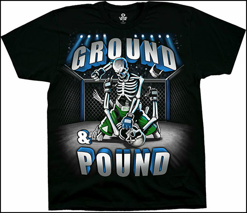 Футболка Liquid Blue - Ground and Pound