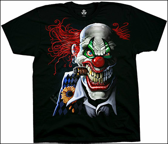 Футболка Liquid Blue - Dark Fantasy - T-shirt - Joker Clown
