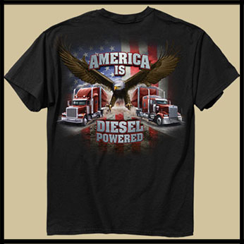 Футболка Buck Wear - America is Diesel
