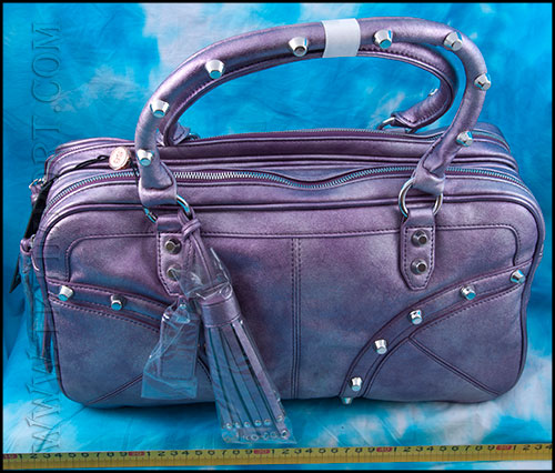 Christian Audigier - Сумки Женские - Marie Satchel - Purple фото, цена, описание