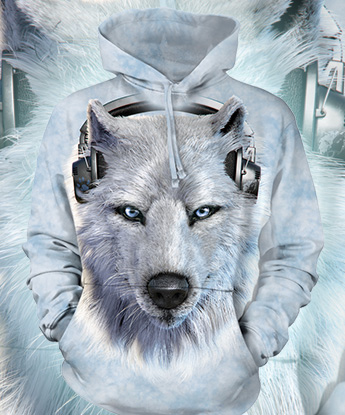 Кенгурушка The Mountain - White Wolf DJ