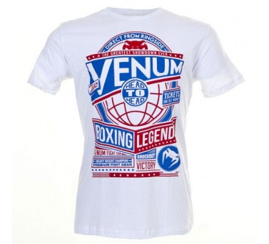 Venum - Футболка - Boxing Legends - T-shirt - Ice