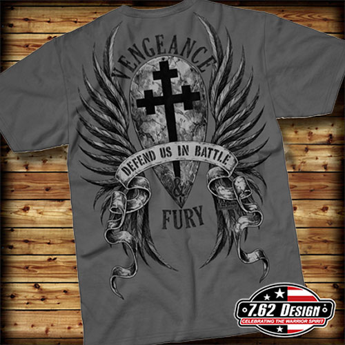 Футболка 7.62 Design - St. Michael Vengeance - Charcoal фото, цена, описание