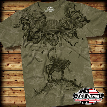 Футболка 7.62 Design - Ghosts Of War - Military Green