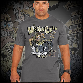 Футболка 7.62 Design - Mission Creep - Charcoal