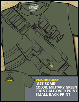 Футболка 7.62 Design - Get Some - Green