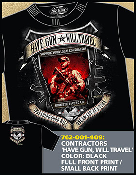 Футболка 7.62 Design - Have Gun Will Travel - Black