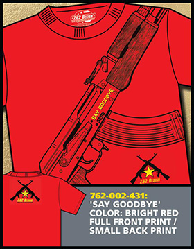 Футболка 7.62 Design - Say Goodbye - Red