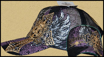 Nobility by Xzavier - Кепка - Winged Cross - Truckers hat