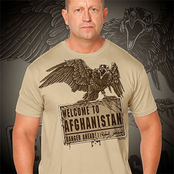 Футболка 7.62 Design - Welcome To Afghanistan - Brown
