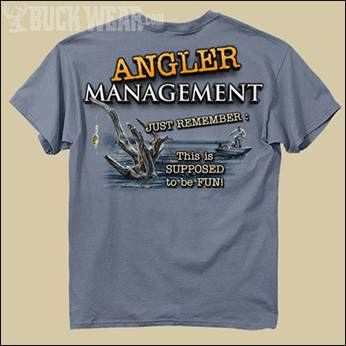 Футболка Buck Wear - Angler Management
