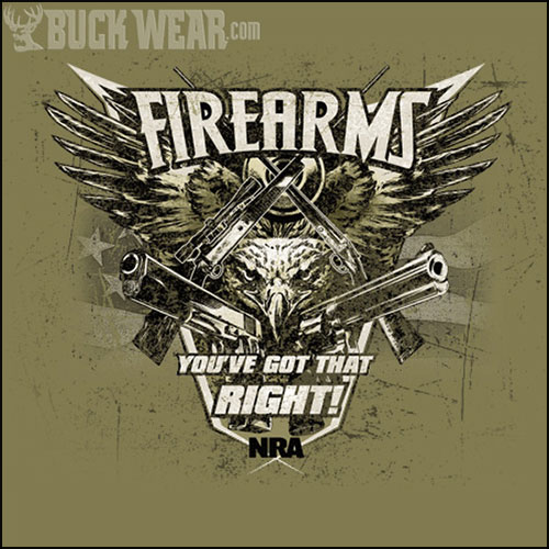 Футболка Buck Wear - NRA-Firearms Right фото, цена, описание